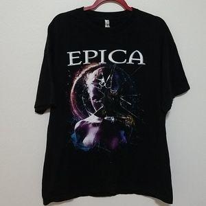 Epica 2016 North American Principle Tour Tee XL